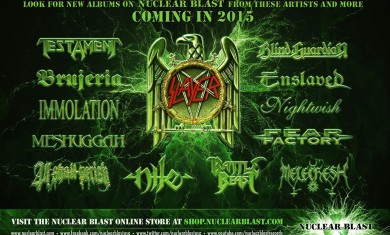 nuclear blast - uscite - 2015