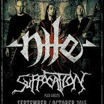 NILE, SUFFOCATION: una data in Italia