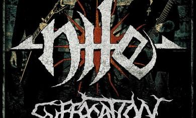 nile suffocation - tour 2015