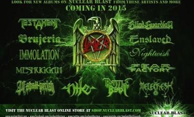 nuclear blast records - nuovi album 2015