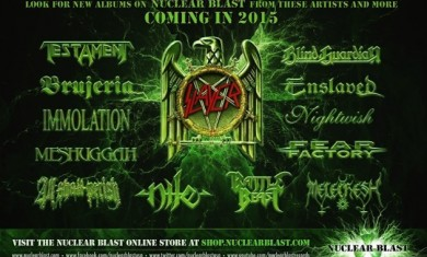 nuclear blast records - nuovi album 2015