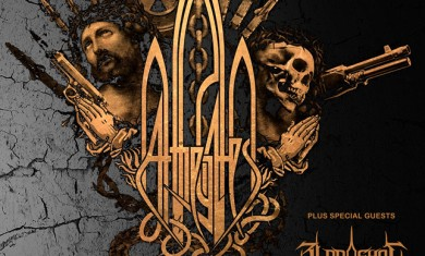At The Gates - flyer Dublino - 2015