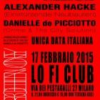 Jarboe/Helen Money + Alexander Hacke/Danielle De Picciotto + The Three Blind Mice