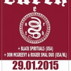 Earth + Black Spirituals + Don McGreevy & Rogier Smal Duo – Roma