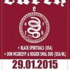 Earth + Black Spirituals + Don McGreevy & Rogier Smal Duo – Roma