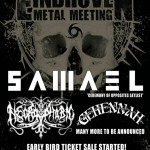 EINDHOVEN METAL MEETING 2015: primi nomi ed early bird tickets