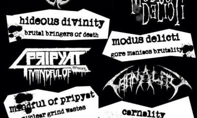 hideous divinity - locandina bresso - 2015