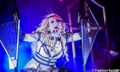 Maria Brink - In This Moment live al Fabrique