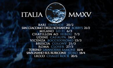 nero di marte tour 2015