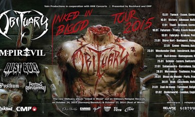 obituary - locandina tour - 2015