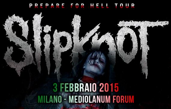 Slipknot King 810 - prepare for hell tour - 2015
