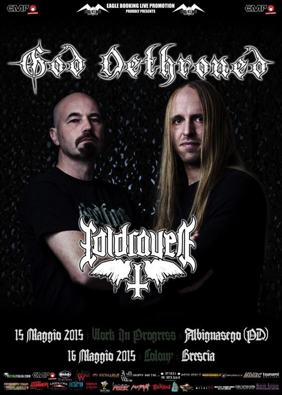 God dethroned italian tour promo web 2015