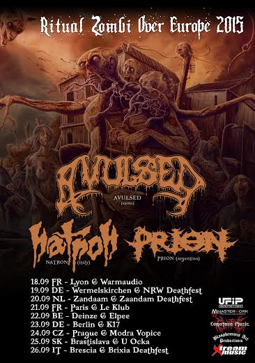 avulsed - natron - tour 2015