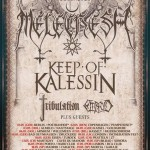 EMBRYO: tour europeo con MELECHESH, KEEP OF KALESSIN e TRIBULATION, due date in Italia