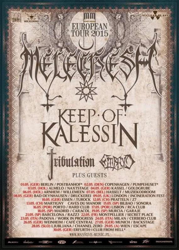 melechesh - tour 2015
