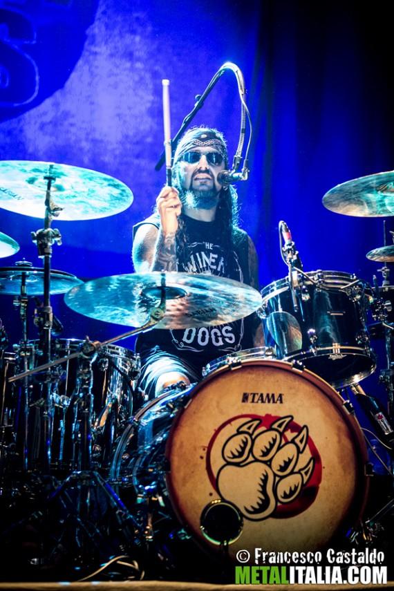 Mike Portnoy - live Milano, 2013