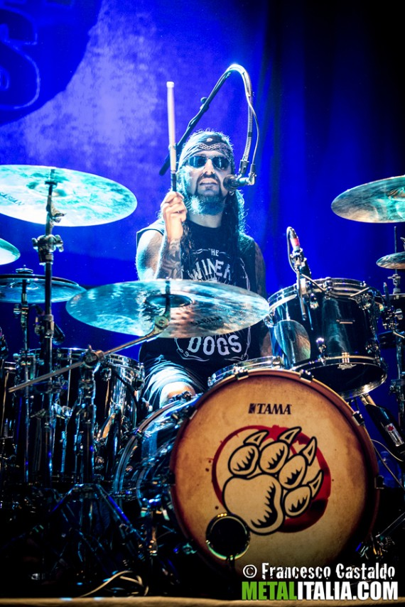mike portnoy - live milano - 2013
