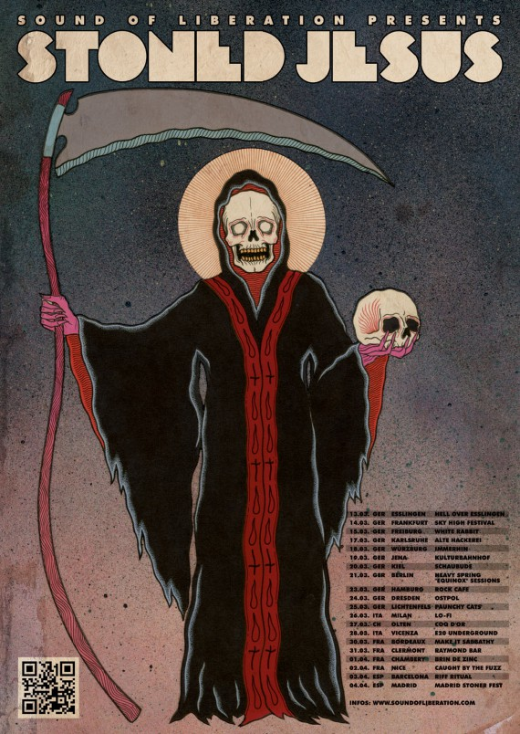 stoned jesus - spring flyer - 2015