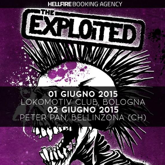 the exploited - locandina bologna bellinzona - 2015