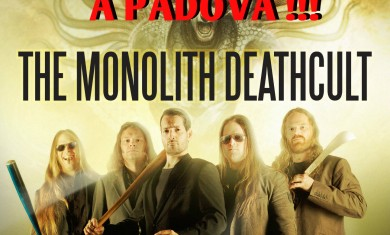 the monolith deathcult - albignasego - 2015