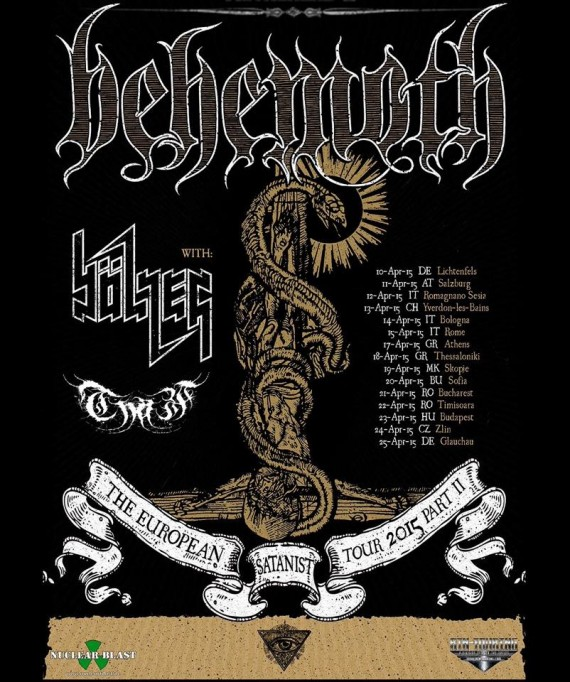 Behemoth - flyer - 2015
