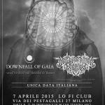 DOWNFALL OF GAIA - DER WEG EINER FREIHEIT - lofi Milano - 2015