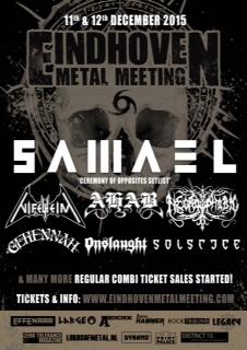 Eindhoven Metal Meeting 2015 - flyer - 2015