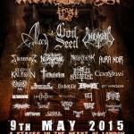 INCINERATION FESTIVAL 2015: il 9 maggio a Londra