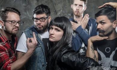 Iwrestledabearonce - band - 2015