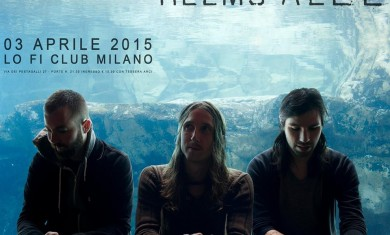 RUSSIAN CIRCLES + HELMS ALEE - Lo-fi Milano - 2015