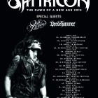 Satyricon + Oslo Faenskap + Vredehammer
