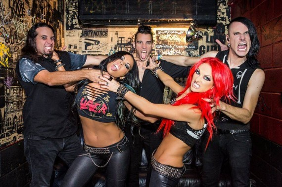 butcher babies - band - 2015