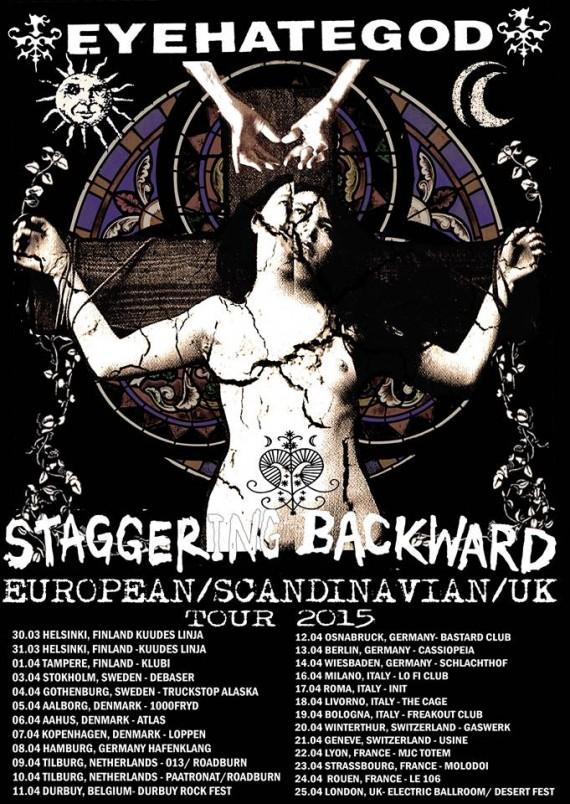 eyehategod - euro tour 2015