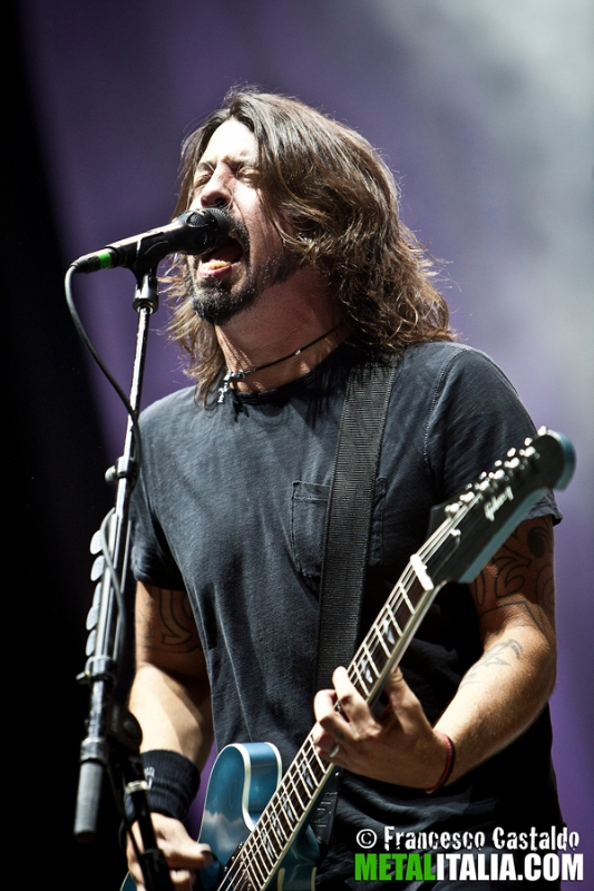 foo fighters - dave grohl live milano - 2012