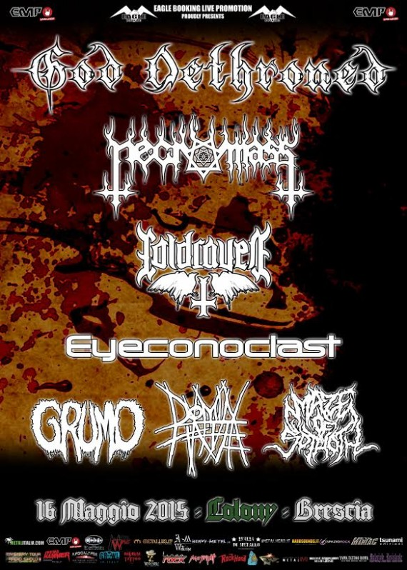 god dethroned - brescia 2015
