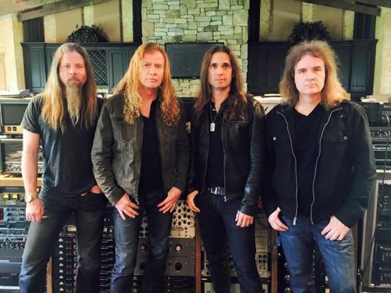 megadeth - band - 2015