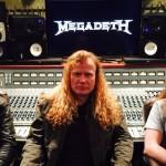 MEGADETH: video dallo studio
