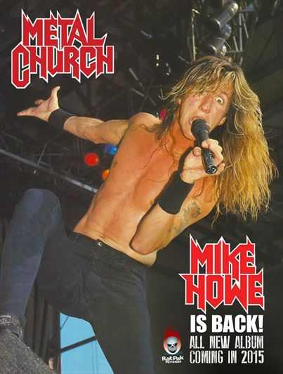 metal church - mike howe is back - 2015