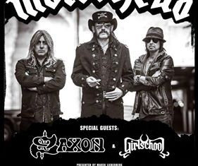 motorhead - 40th anniversary tour - 2015
