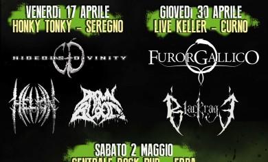 road to metalitalia festival 2015