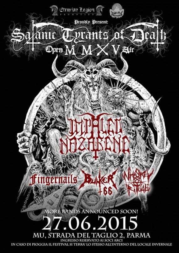 satanic tyrants of death open air 2015