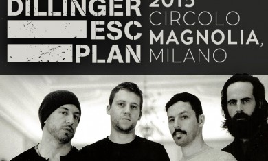 the dillinger escape plan - milano 2015