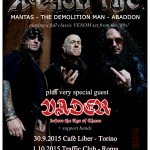VENOM: Mantas, Demolition Man e Abaddon si riuniscono nei VENOM inc., tre date in Italia
