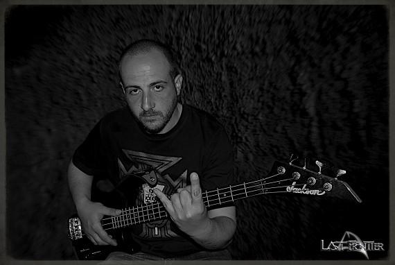 LAST FRONTIER - nuovo bassista - 2015