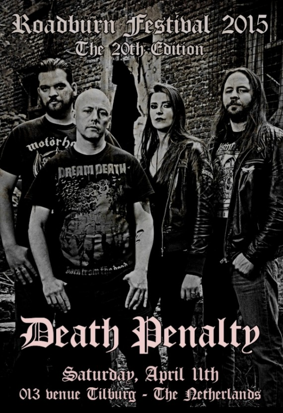 Roadburn 2015 - Death Pealty