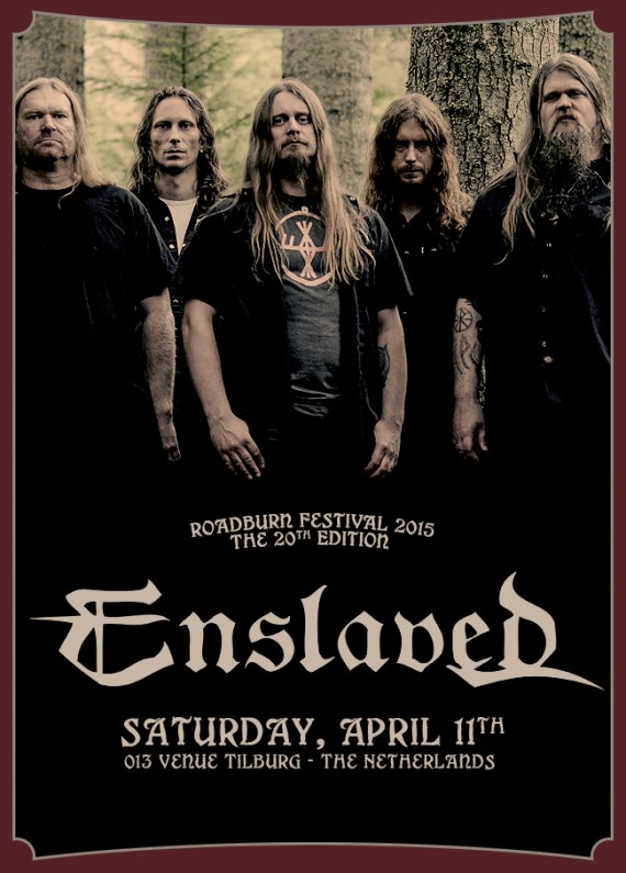 Roadburn 2015 - Enslaved2