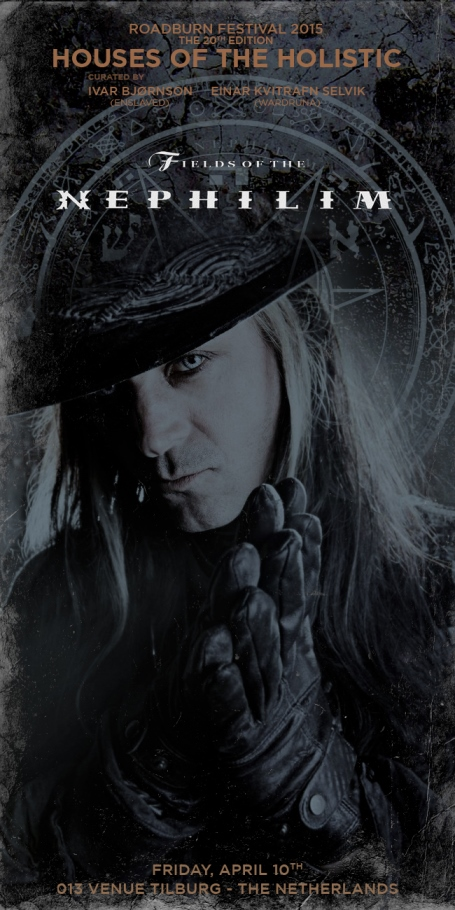 Roadburn 2015 - Fields nephilim