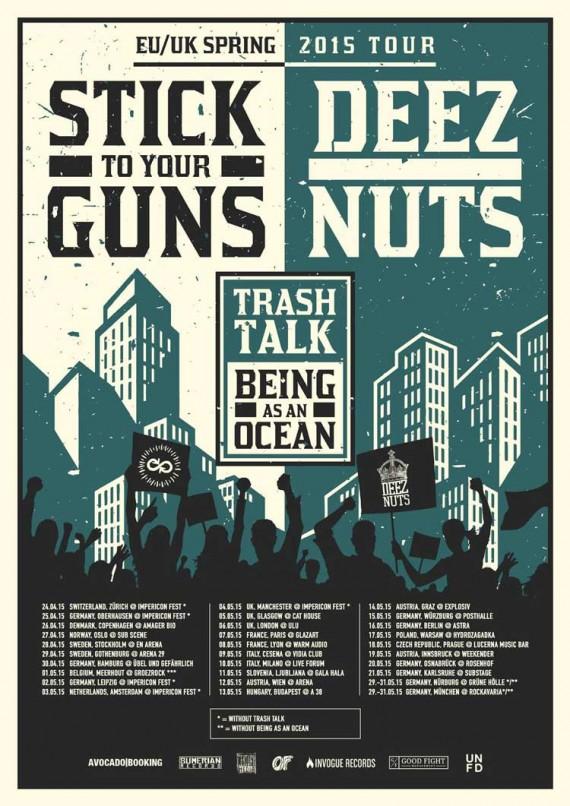 deez nuts stick to your guns - locandina l- 2015