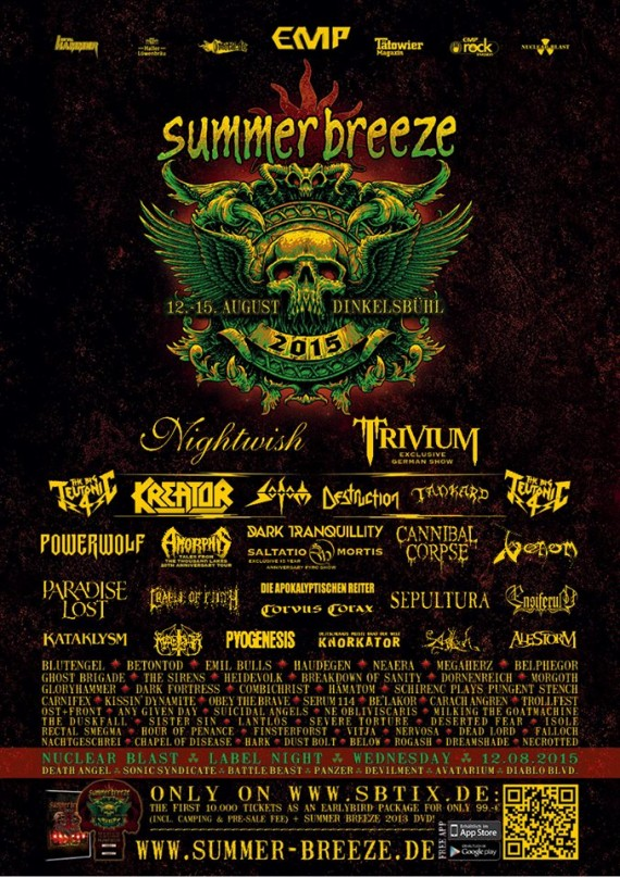 Summer Breeze 2015 - poster definitivo - 2015