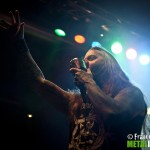 devildriver - dez fafara live milano - 2013